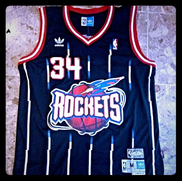 NBA Houston Rockets Hakeem Olajuwon Jersey aa7bbf750